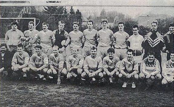 Im ersten Vereinsjahr viel erreicht - Aufstieg in die Kreisliga B. (Sommer 1993)