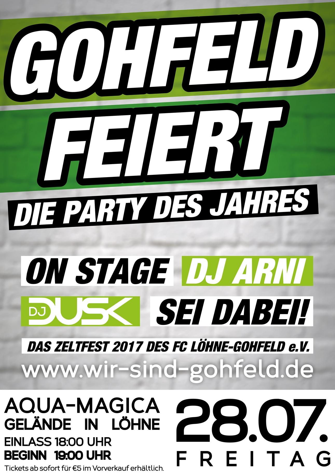 Gohfeld feiert