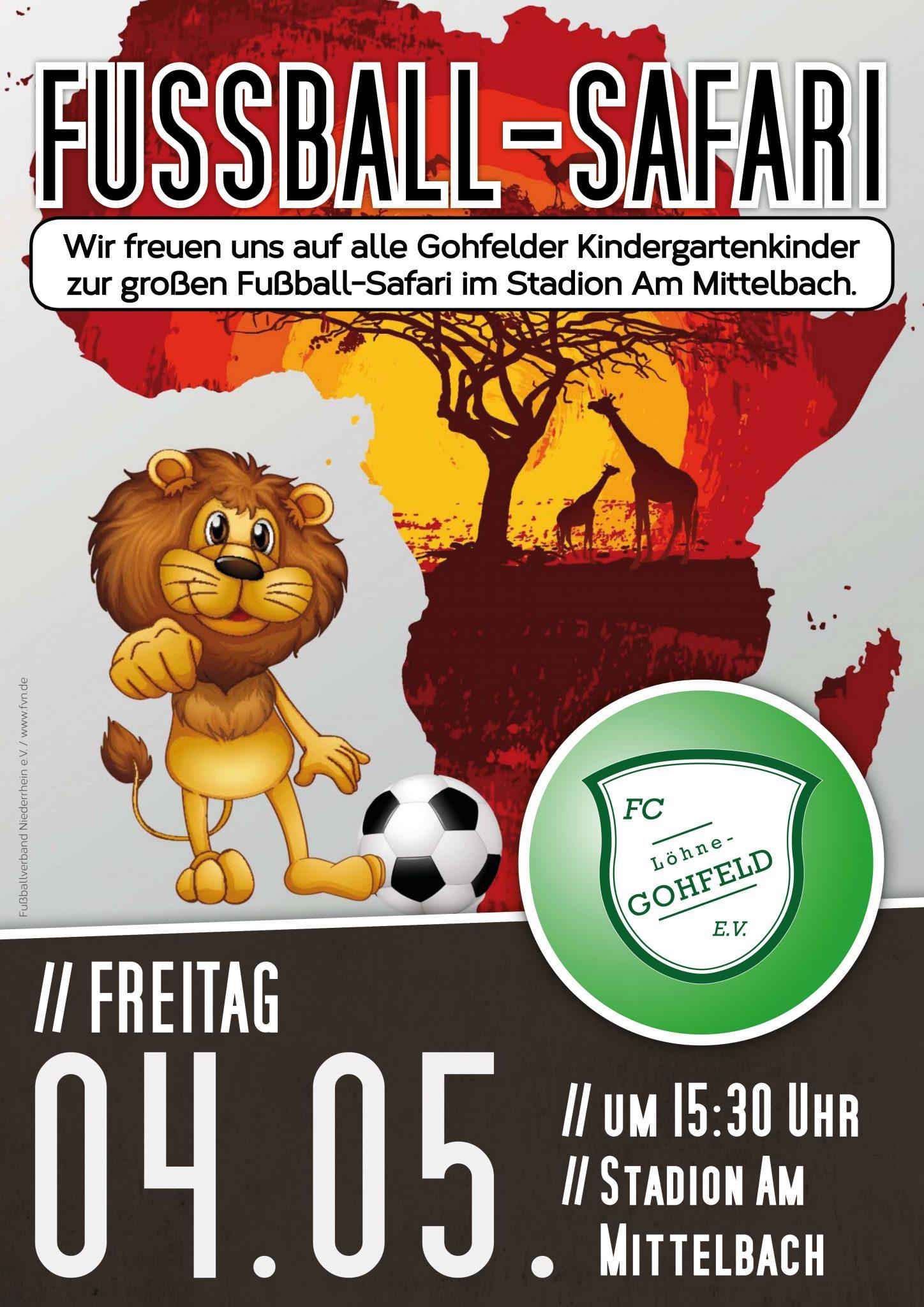 Fußball-Safari 2018