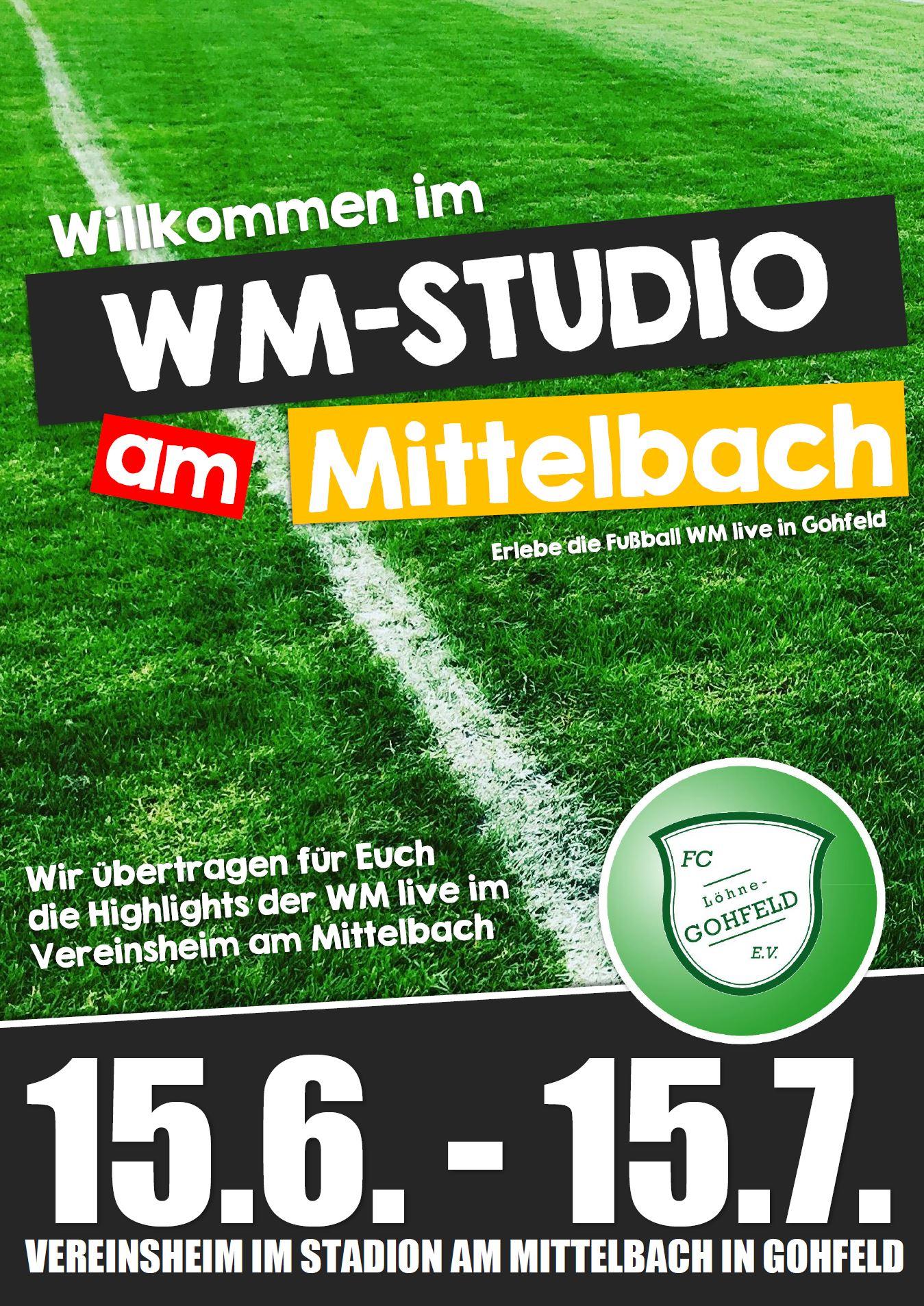 WM-Studio am Mittelbach