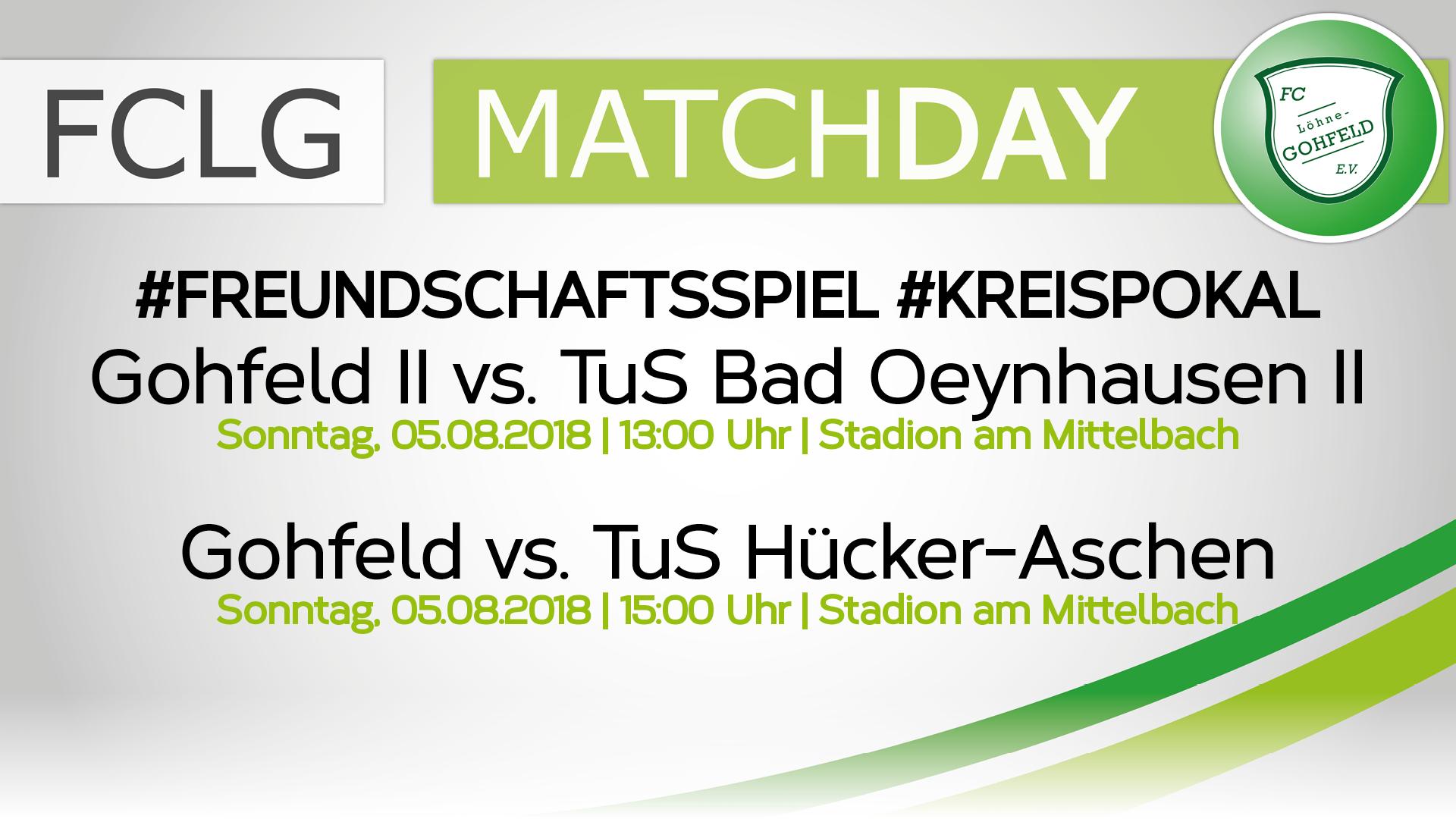 Gohfeld vs. TuS Hücker-Aschen