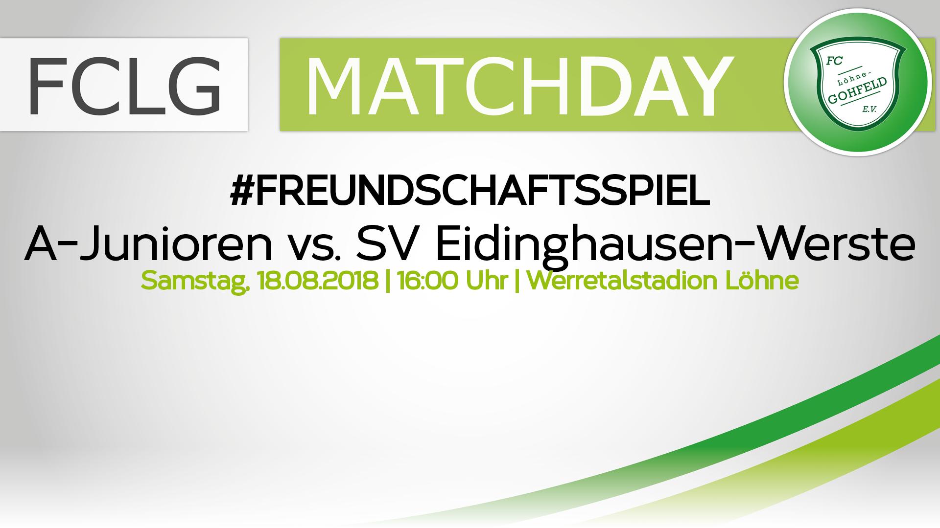 A-Junioren vs. SV Eidinghausen-Werste