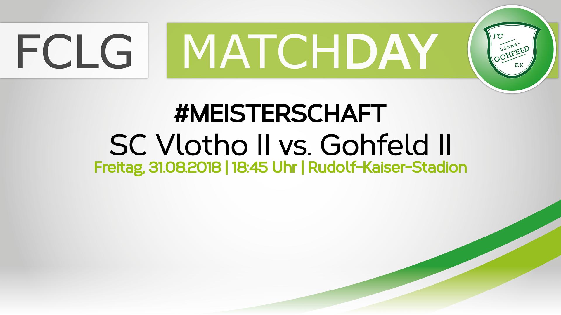 SC Vlotho II vs. Gohfeld II