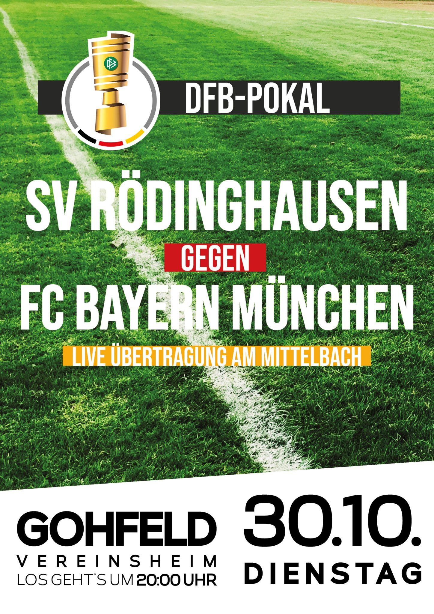 Rudelgucken zum DFB-Pokal