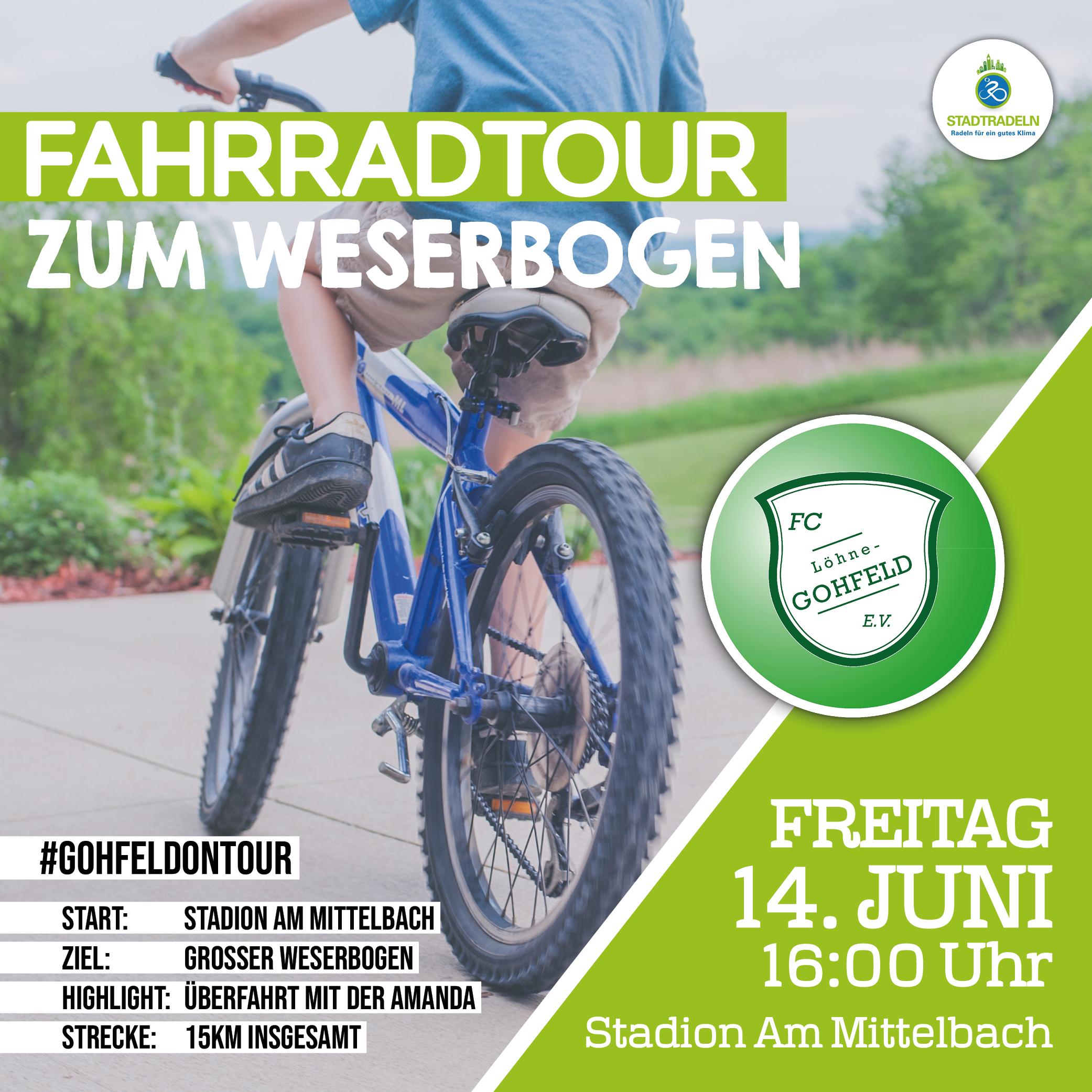Fahrradtour zum Weserbogen