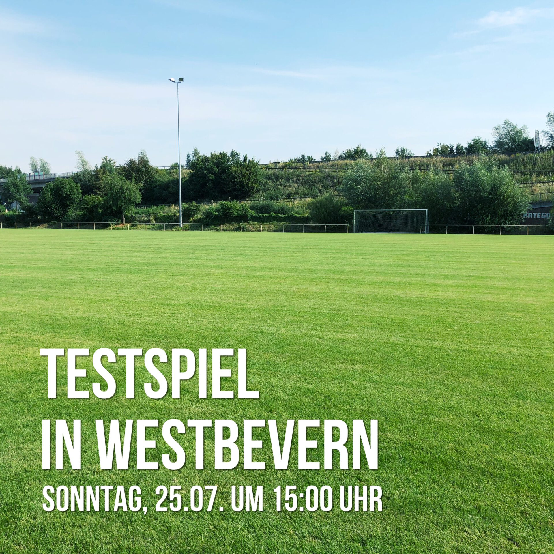 Abgesagt: Auswärtsspiel gegen SV Ems Westbevern