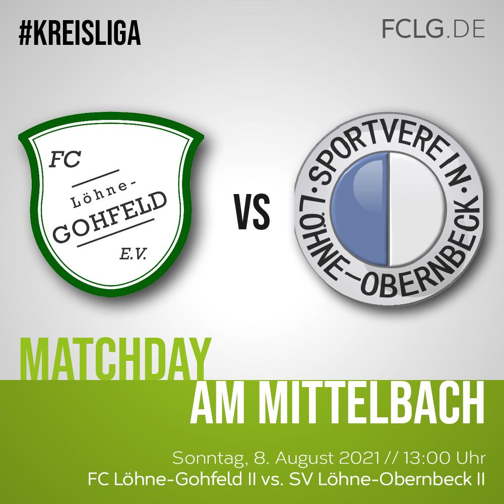 FCLG II gegen SV Löhne-Obernbeck II (Freundschaftsspiel)