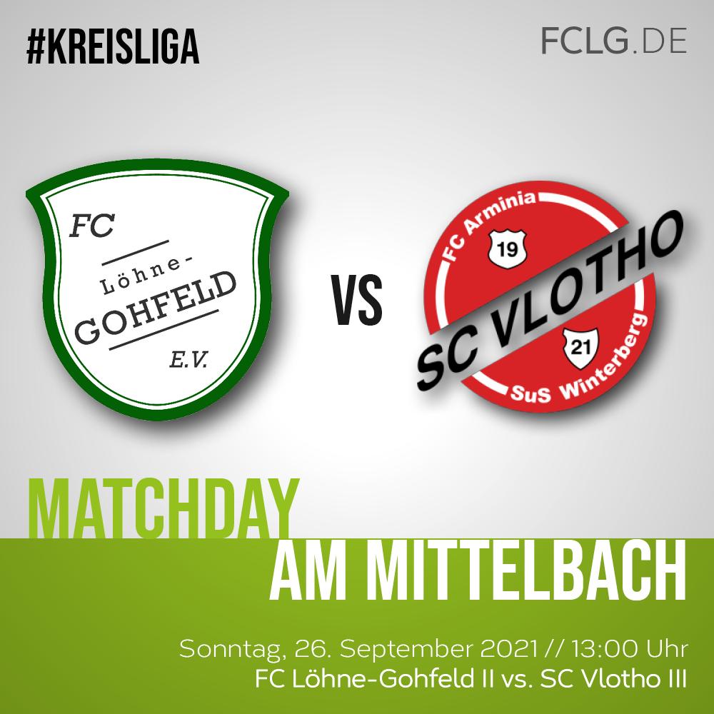 FCLG II gegen SC Vlotho III