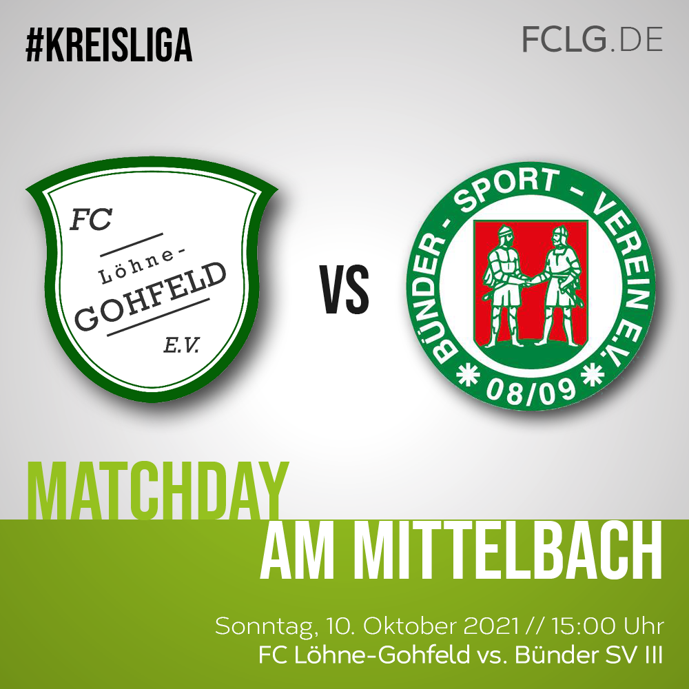 FCLG gegen Bünder SV III