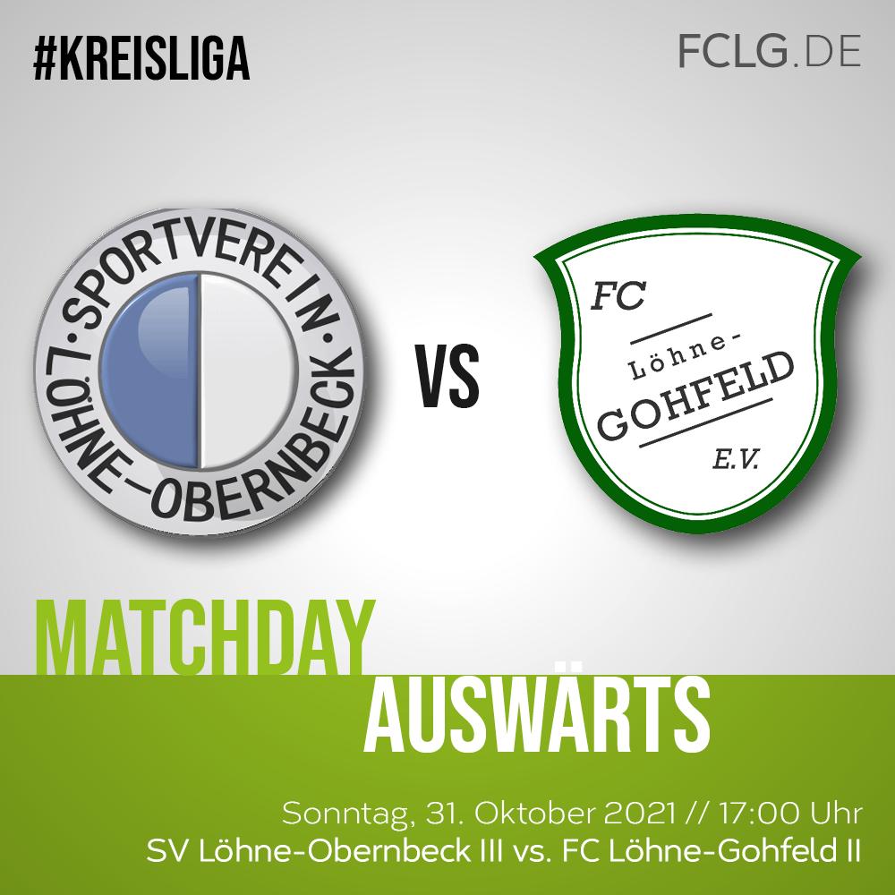 SV Löhne-Obernbeck III gegen FCLG II